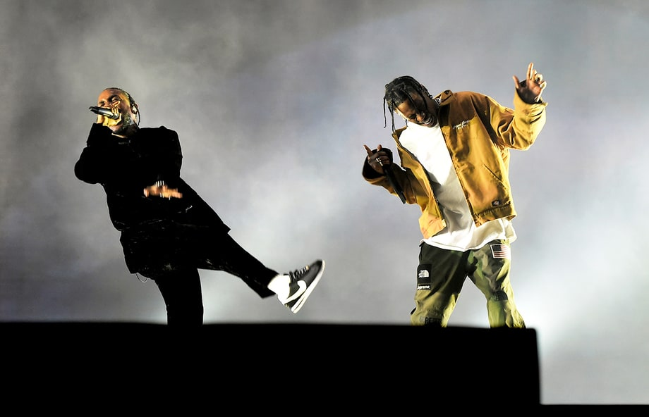 Kendrick Lamar, Travis Scott et 2 Chainz réunis sur scène pour «4am»