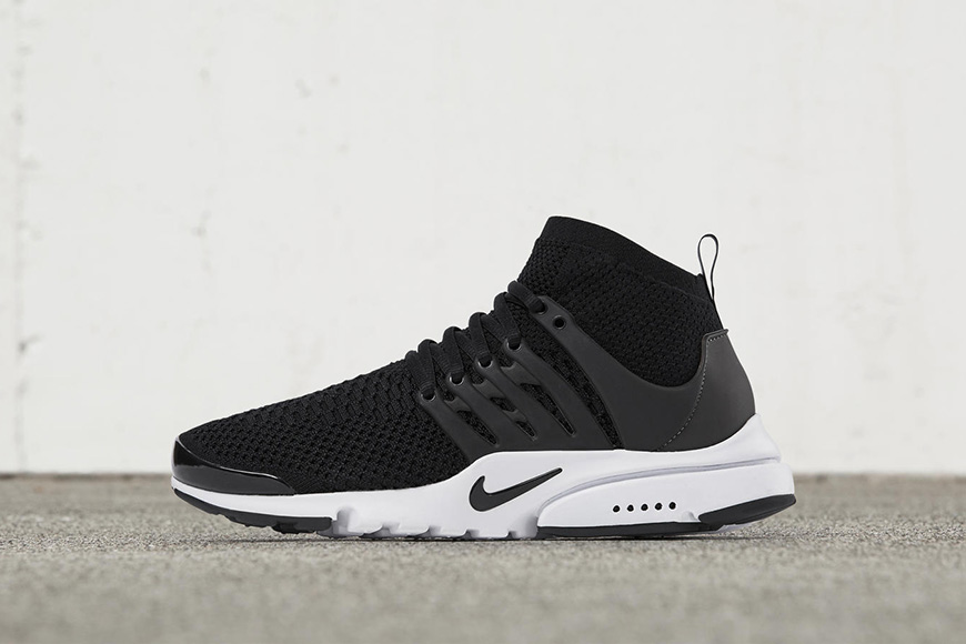 La Nike Air Presto Ultra Flyknit revient en black and white !