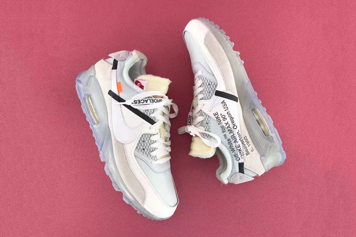 OFF WHITE x Nike Air Max 90 : passionnellement belles