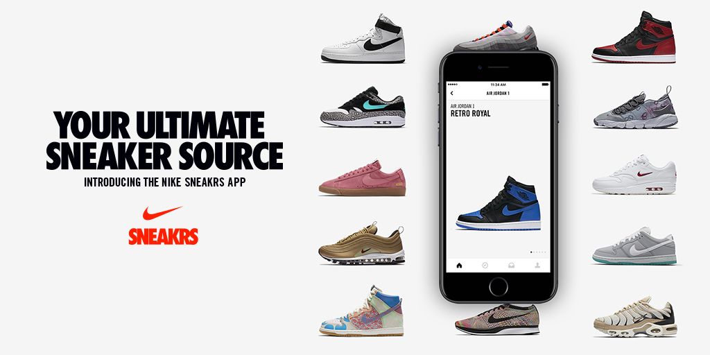 nike application SNEAKRS