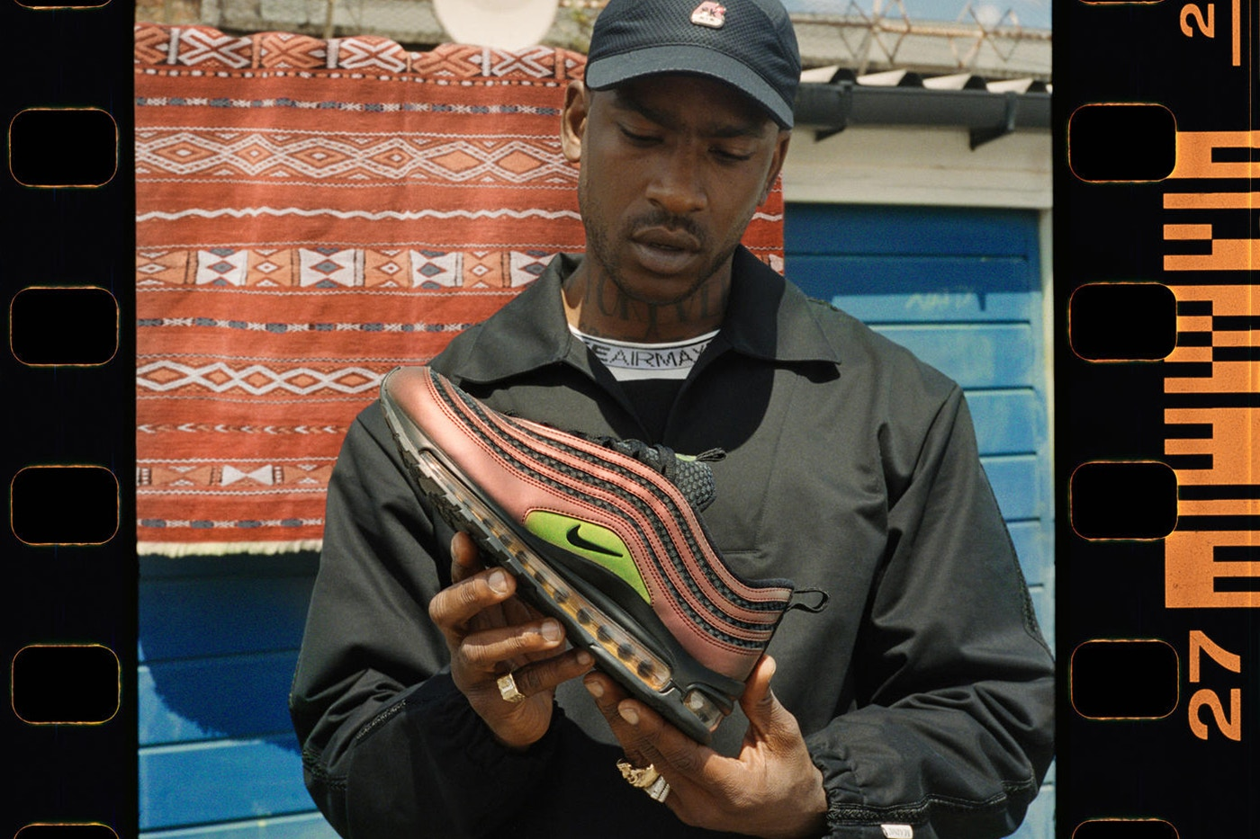 L'artiste Skepta collabore avec Nike sur la Air Max 97 !