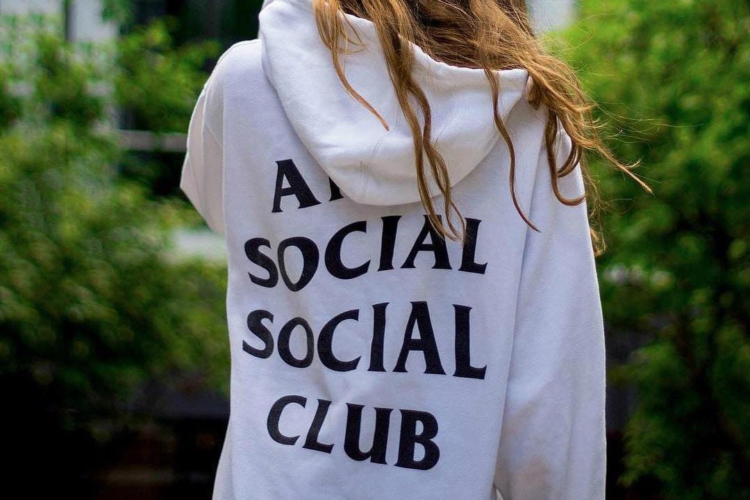 Ce weekend, Anti Social Social Club sortira une collection exclusive à l'Asie