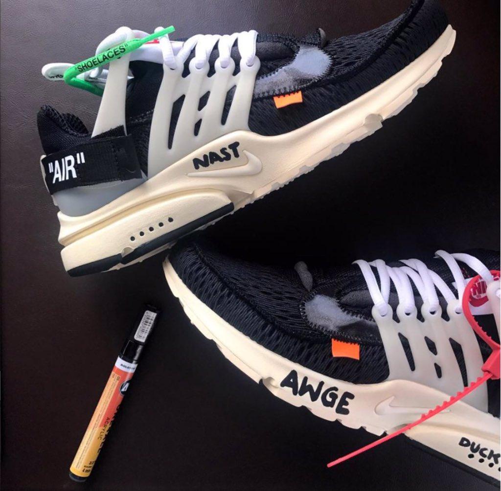 Découvrez les éventuels prix des sneakers Nike x Off White