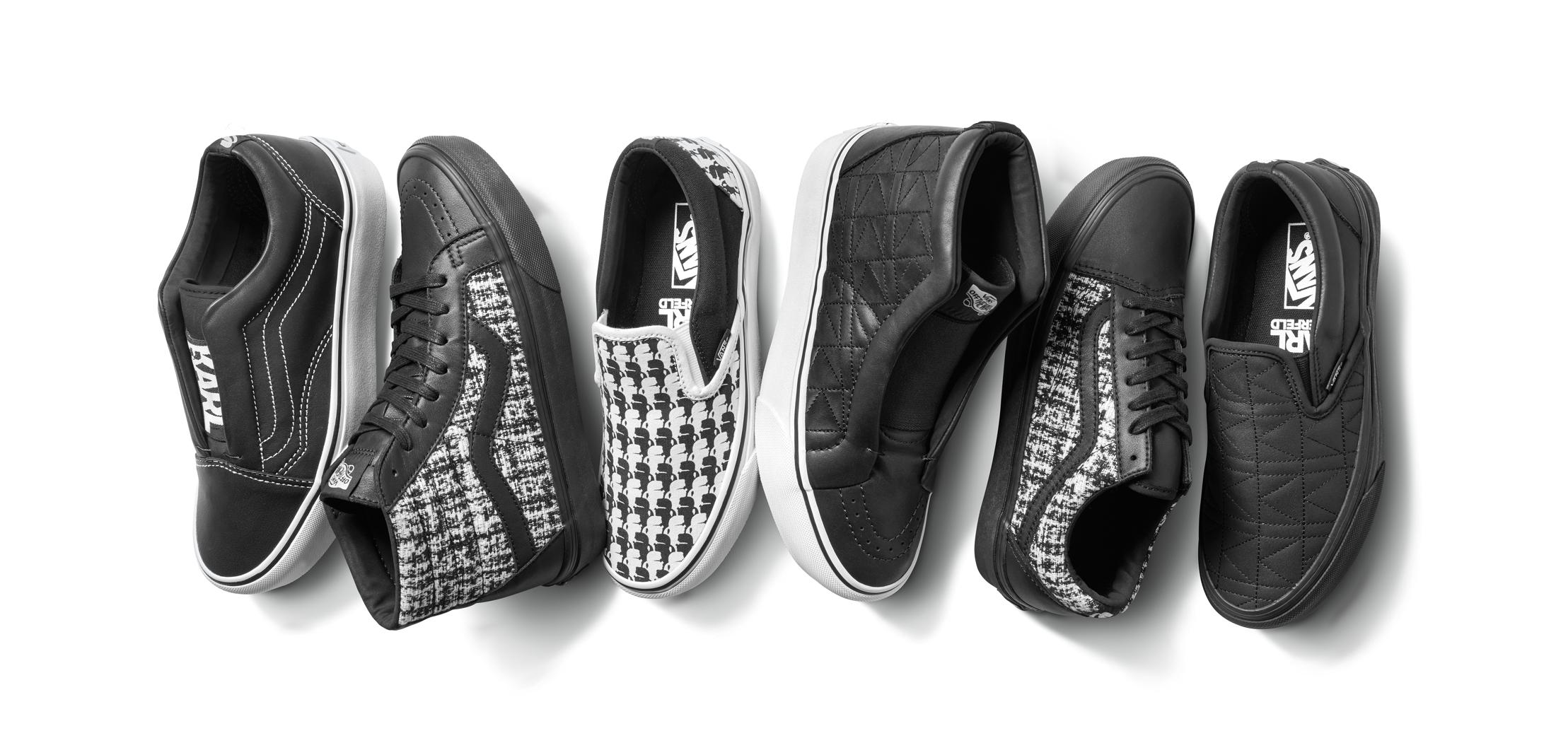 Découvrez les premiers visuels de la collaboration Karl Lagerfeld x Vans