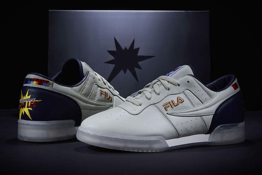 FILA crée une paire de sneakers personnalisée en l'honneur de la légende Marvel Stan Lee
