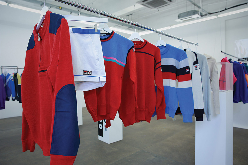 Fila ouvre un pop up Museum à Londres