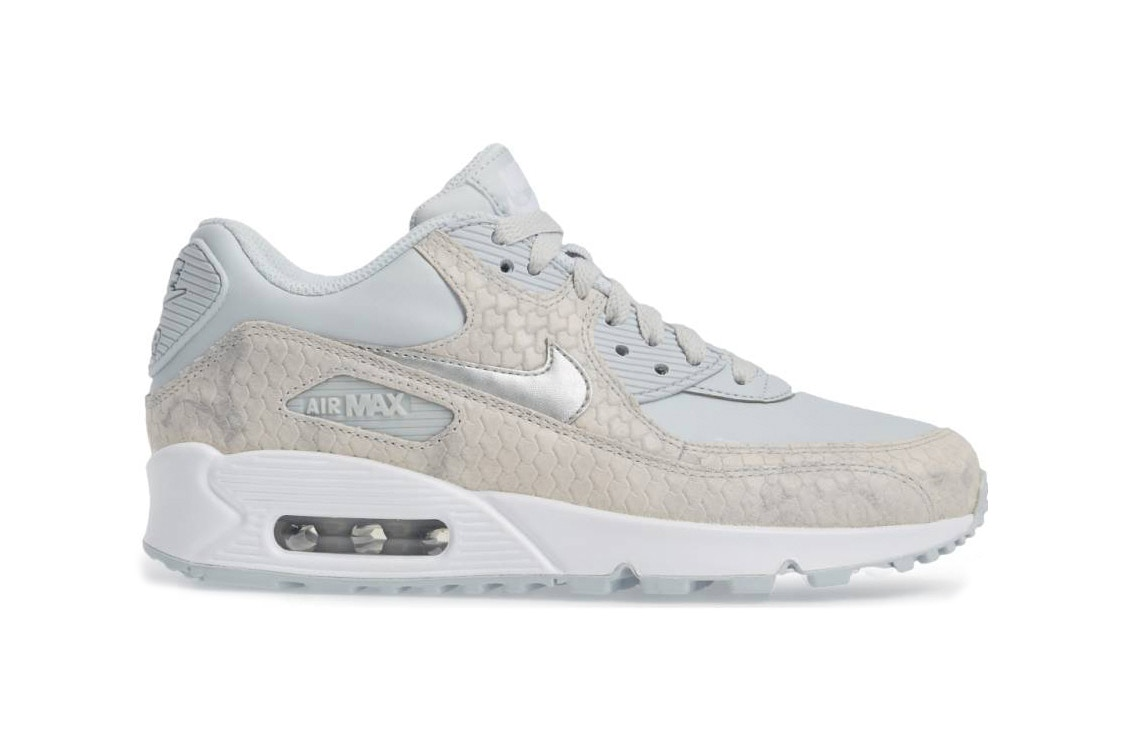 nike air max 90 grey snakeskin