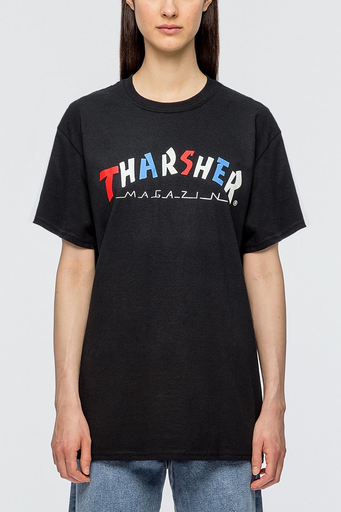 thrasher roses hoodie shirt