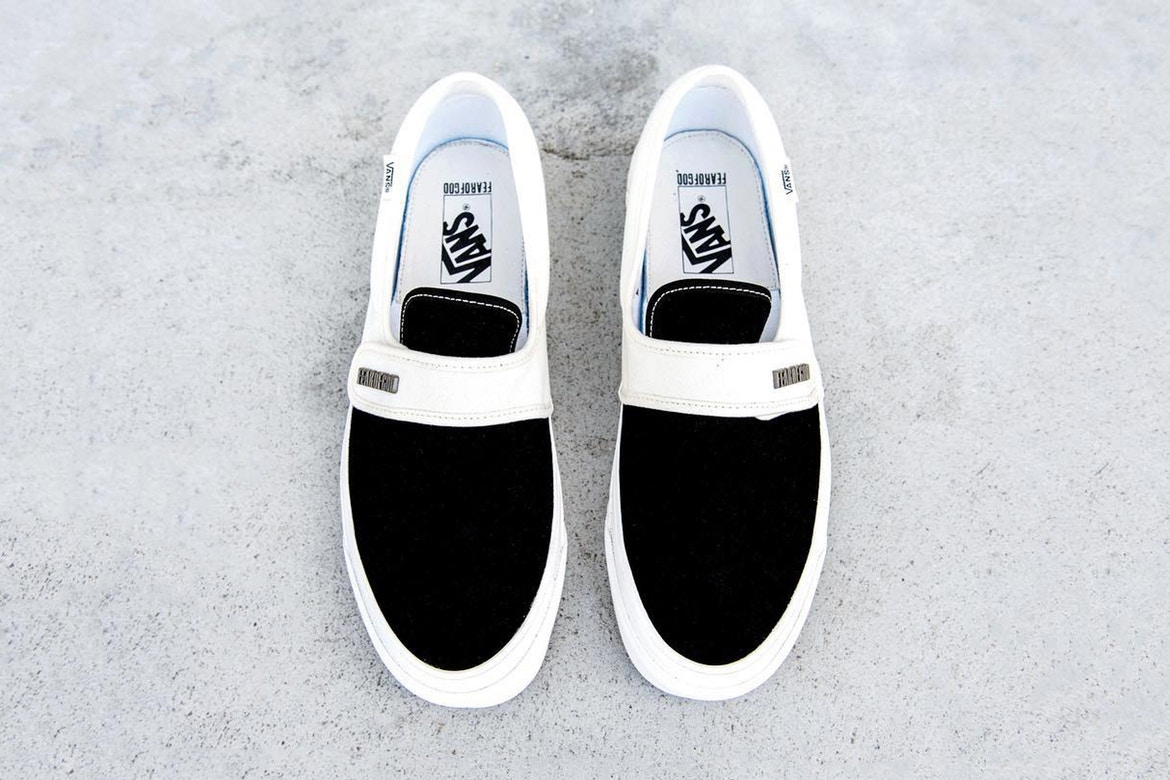 Fear of God tease sa collaboration avec Vans
