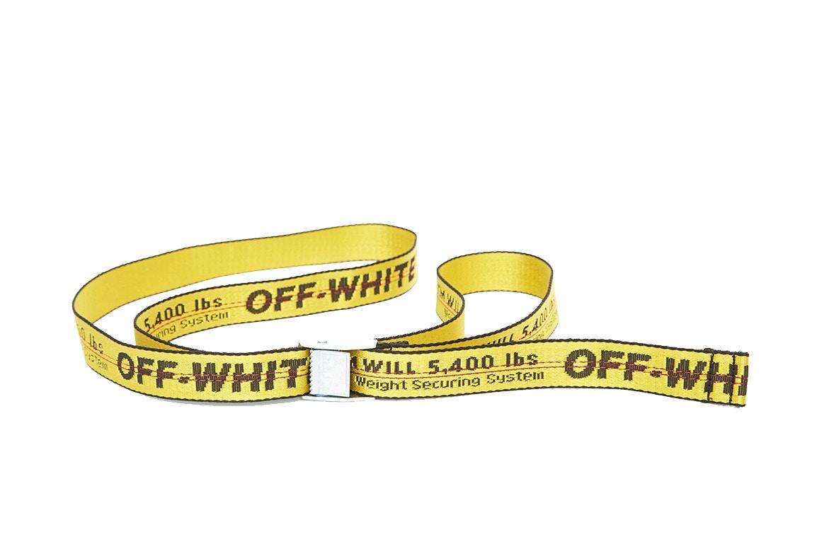 Les ceintures Off-White™ sont de retour!