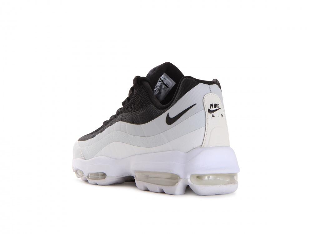 air max 95 black white pure platinum
