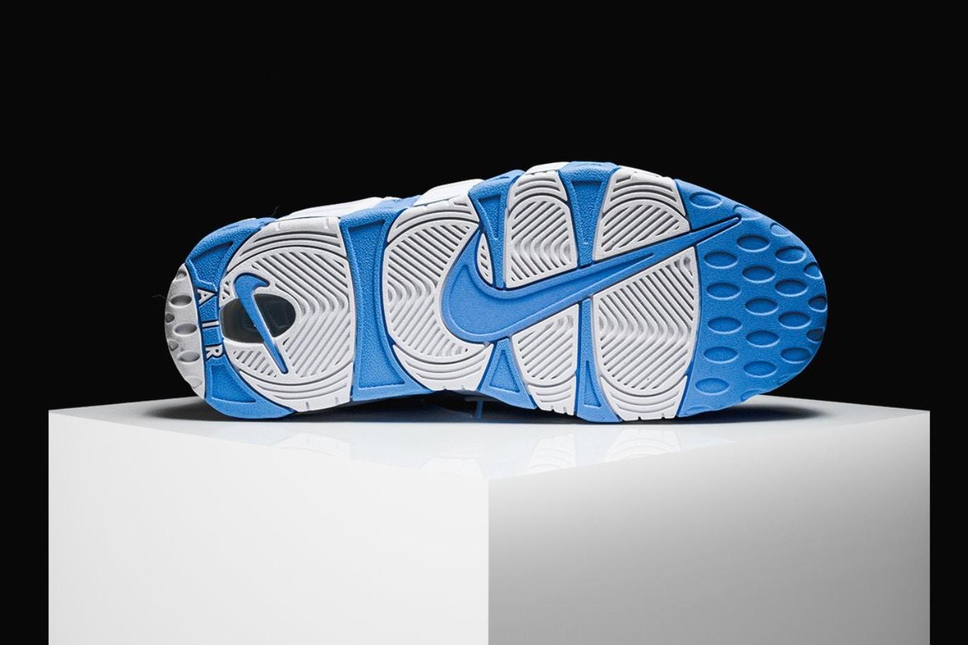Nike dévoile Uptempo une Air More Uptempo dévoile en Bleu University 18c61a