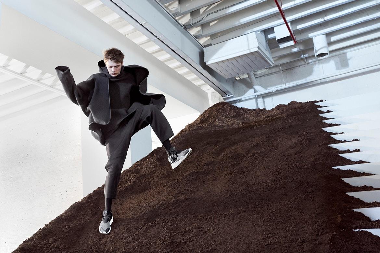 La campagne futuriste de la collection adidas Y-3