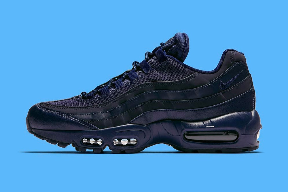 La Nike Air Max 95 version bleu marine ? Une vrai beauté !