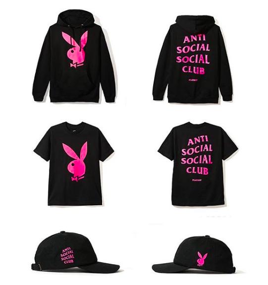 La prochaine collab' Playboy x Anti Social Social Club  sort cette semaine