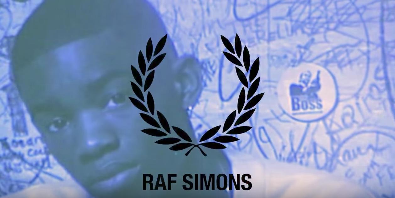 Raf Simons s'associe une nouvelle fois à Fred Perry pour une collection 90's  (VIDEO)