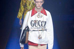 Les looks merveilleux du défilé Gucci SS18 à Milan