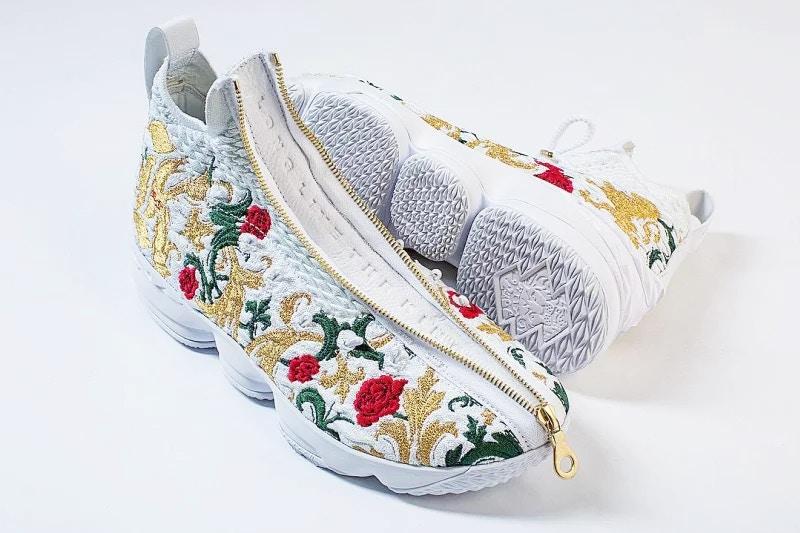 La LeBron 15 Zip est de retour en «Floral»