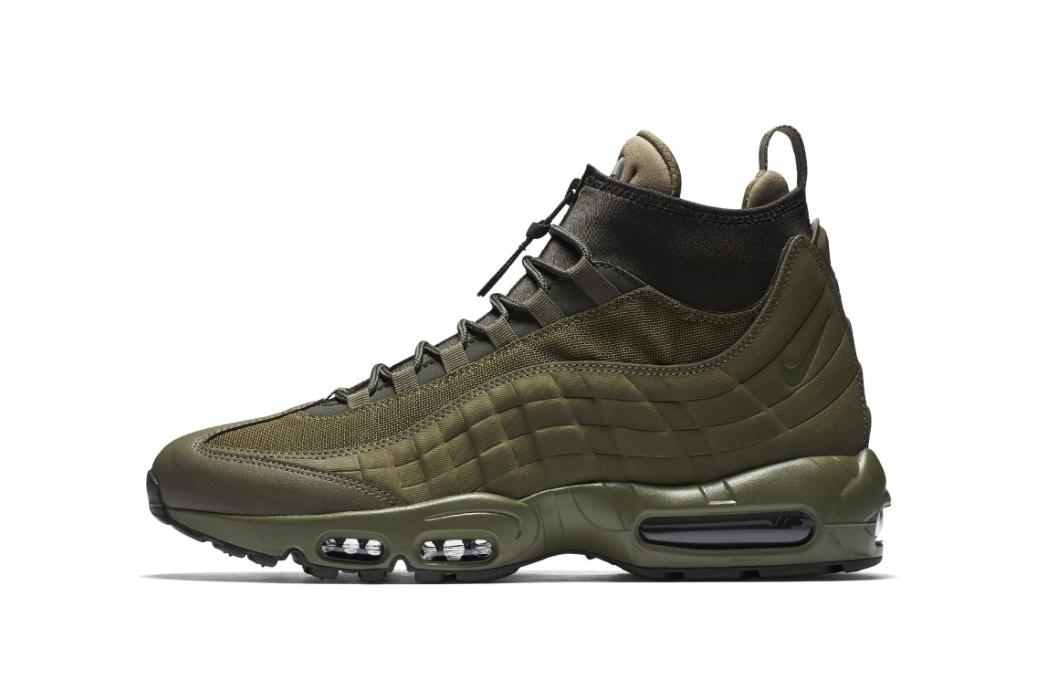 """La Air Max 95 en version Sneakerboot """"Olive"""""""
