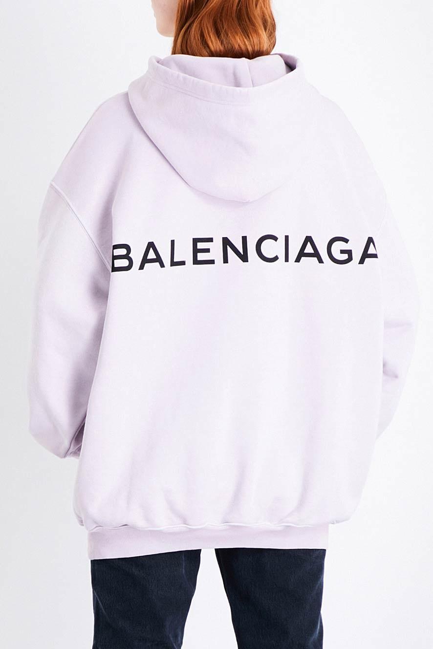 Balenciaga nous révèle des hoodies pour cet hiver