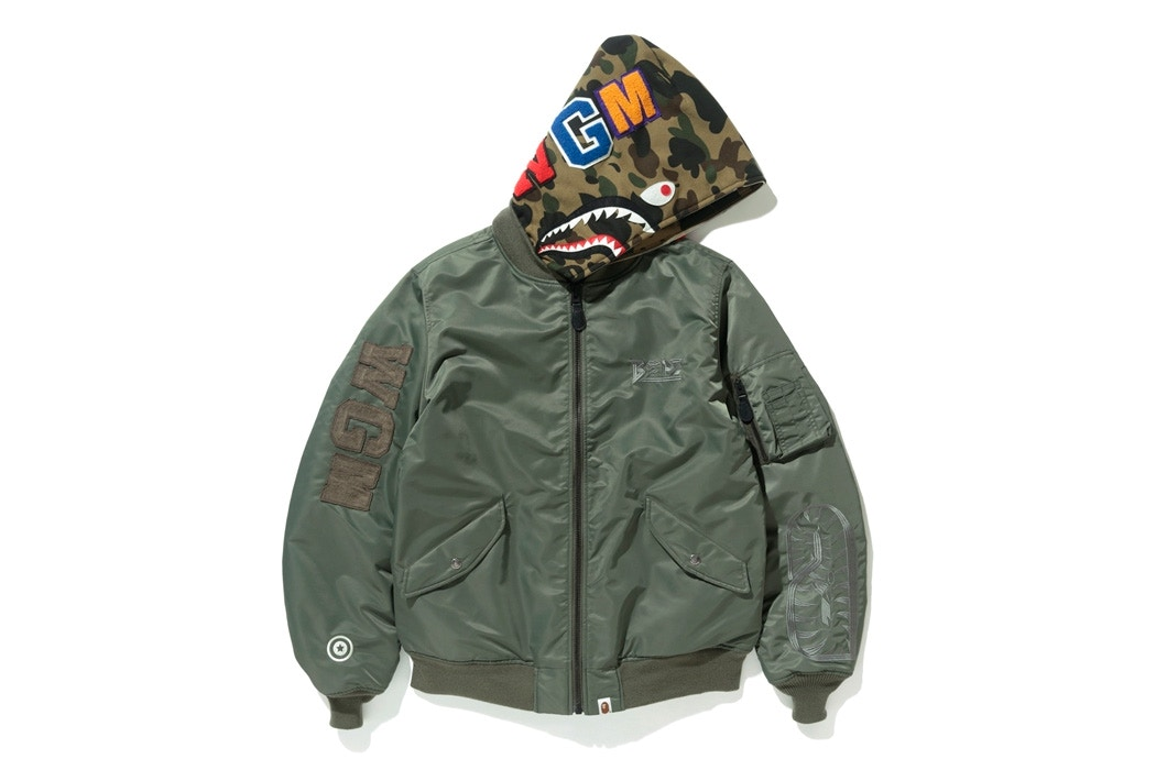 Bape sort une collection Rock&Military