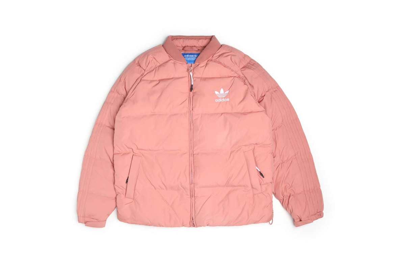 Adidas originals revient avec une doudoune superstar «Raw Pink»