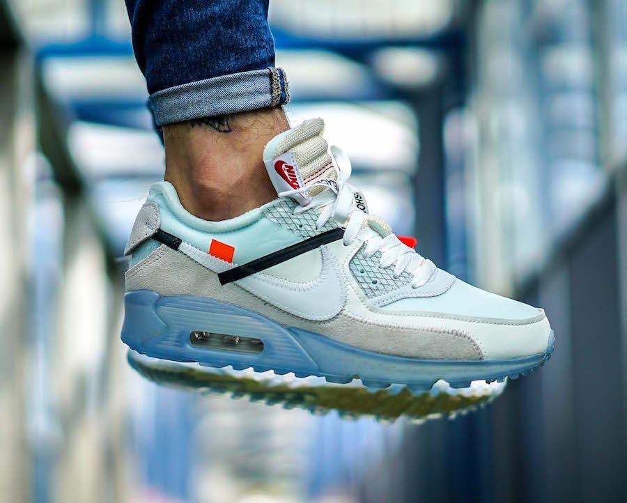 Virgil Abloh x Nike  : Un aperçu des Air Max 90 portées
