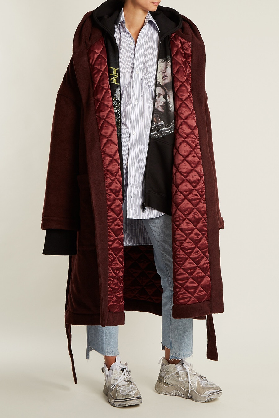 vetements robe coat 2
