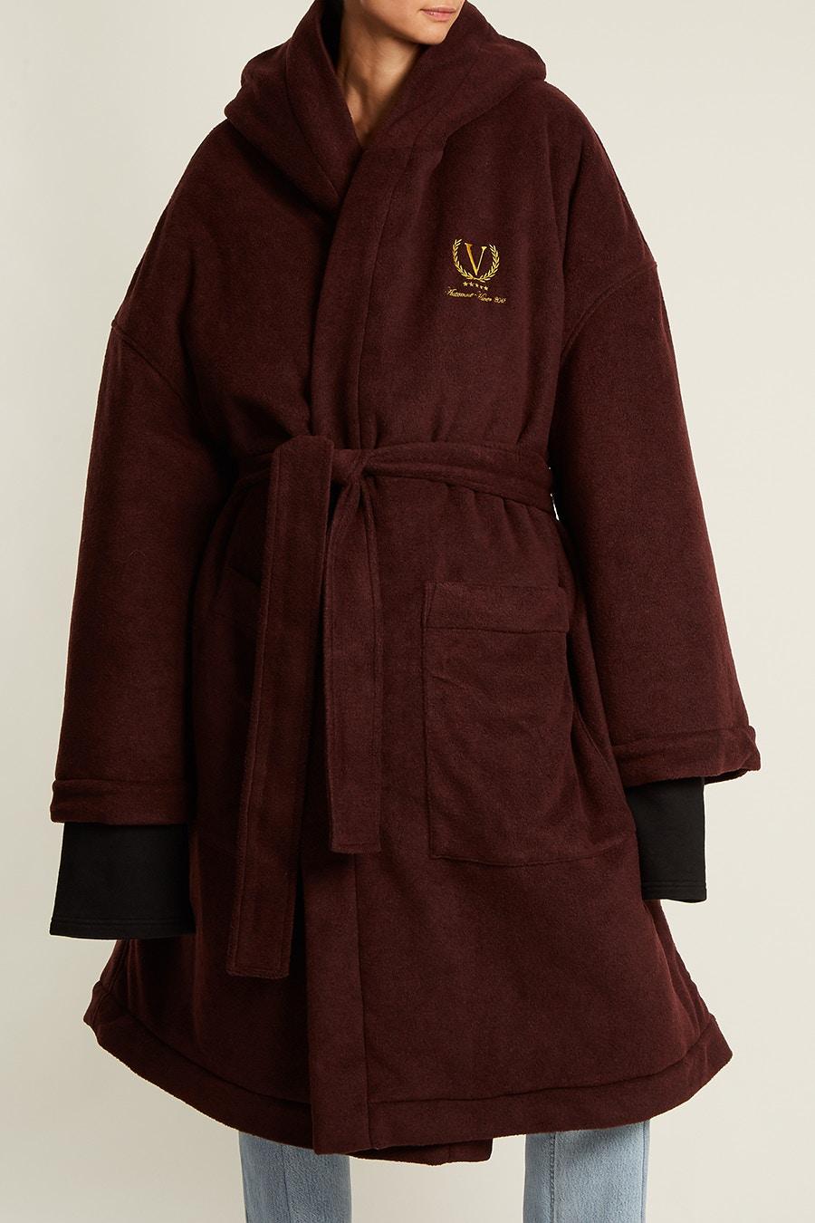 vetements robe coat