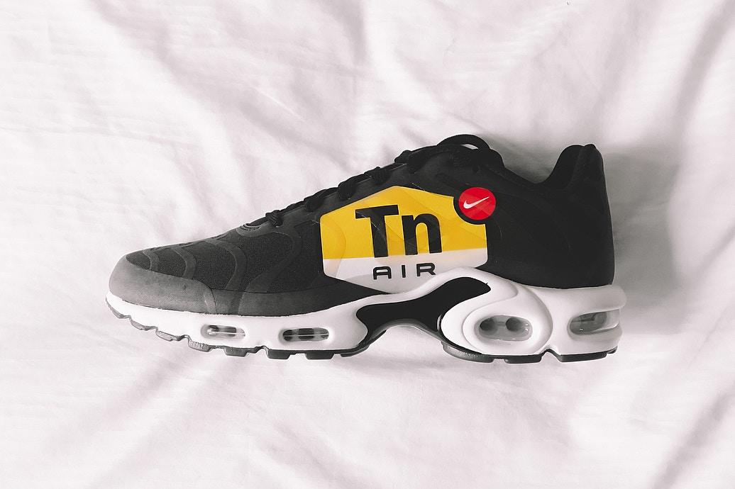 Nike sort une Air Max Plus avec le branding TN