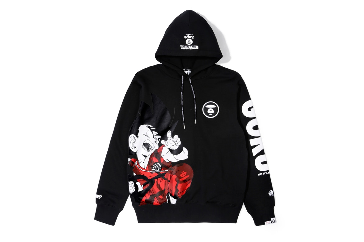 AAPE by A Bathing Ape sort une collab' Dragon Ball