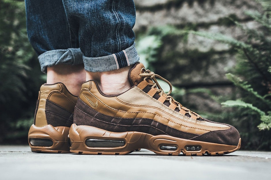 La Air Max 95 revient dans un colorway « Baroque Brown""