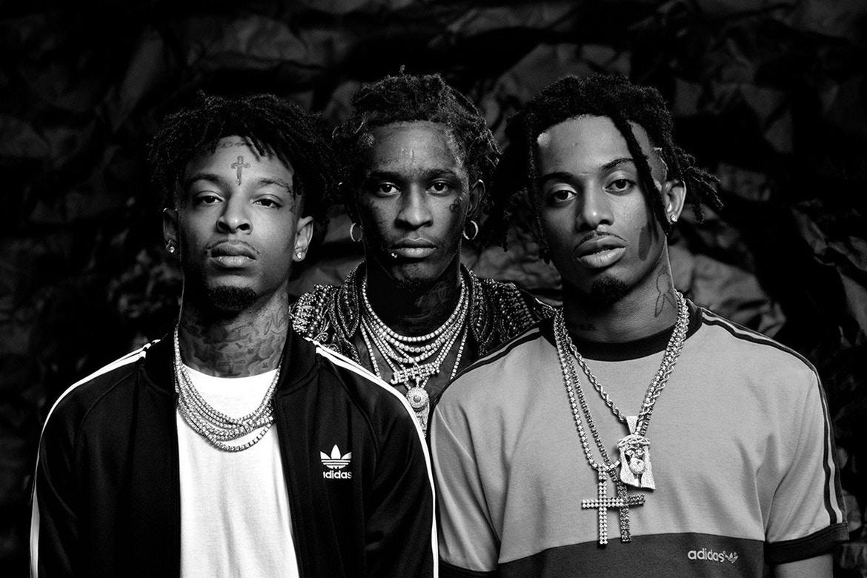 21 Savage, Young Thug & Playboi Carti  poseront pour la prochaine campagne adidas Originals