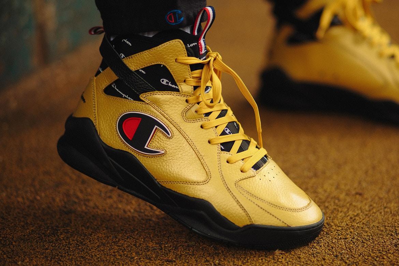 90466c80c2b28 Champion réinvente les sneakers de basketball avec la Champion Zone ...