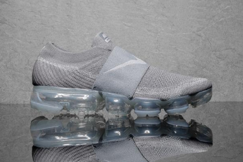 La Vapormax laceless en « Light Grey »
