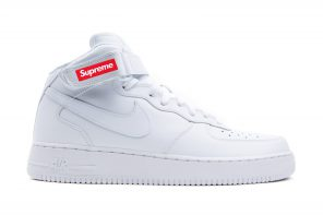 Supreme et Nike s'associent pour une  Nike Air Force 1 Mid