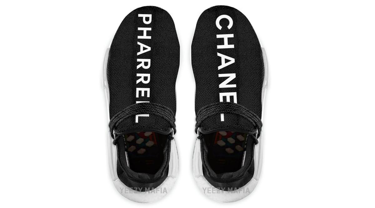 Adidas et Pharrell vont collaborer avec Chanel pour la NMD HU Pharrell