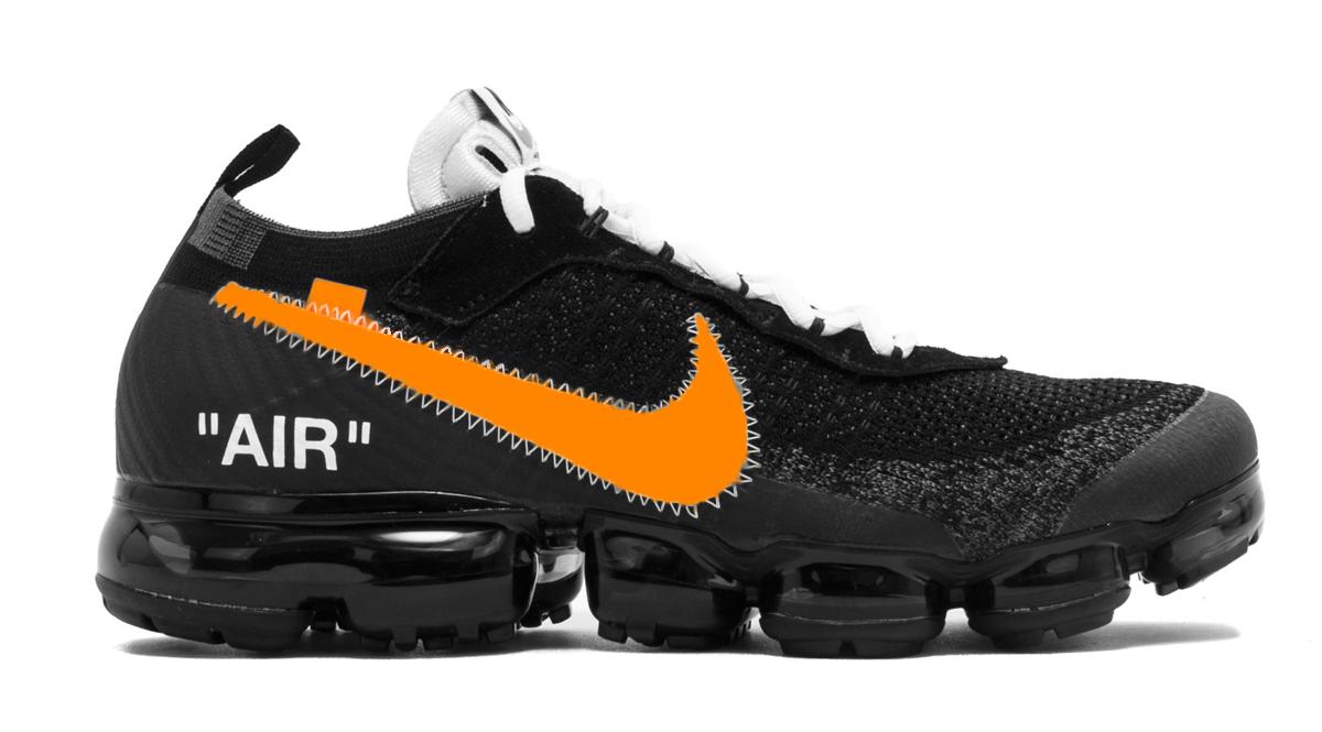 Deux nouvelles Vapormax signées Off White x Nike sortiront en 2018