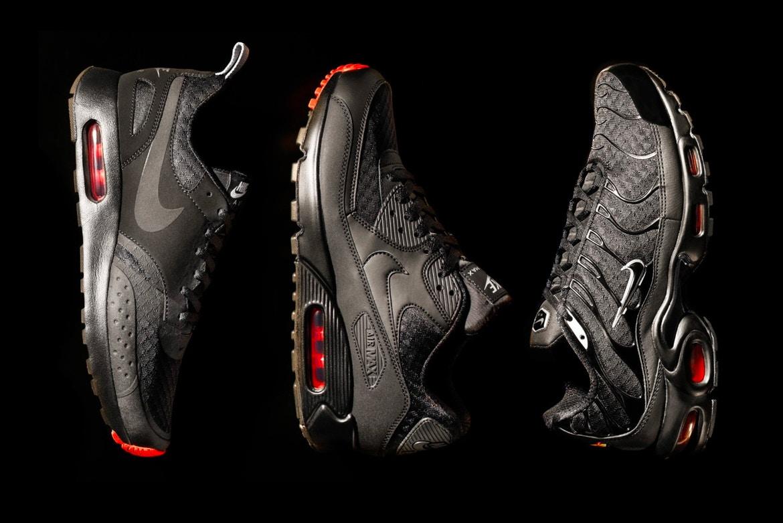 Nike sort un pack «Ninja» qui réunit trois de ses classiques