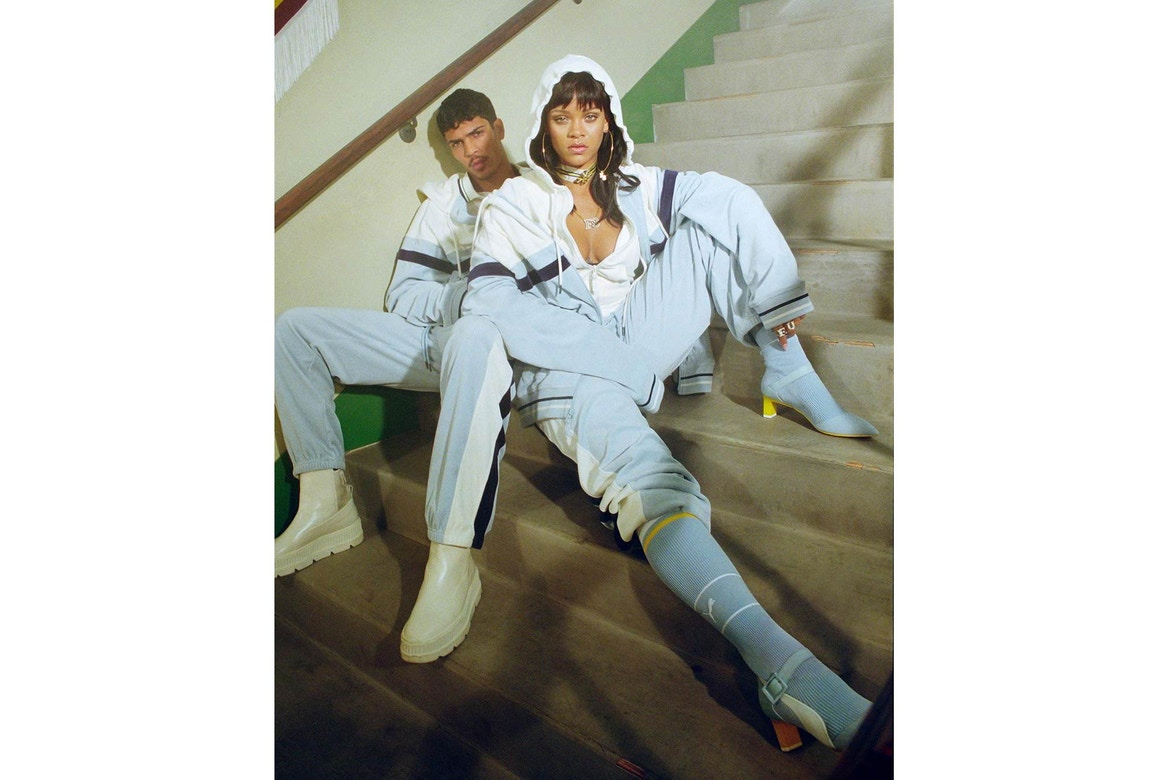 Le second drop Fenty Puma  by Rihanna sort cette semaine
