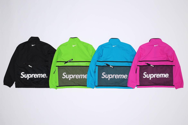 Le second drop de la collab' Nike x Supreme sort cette semaine!