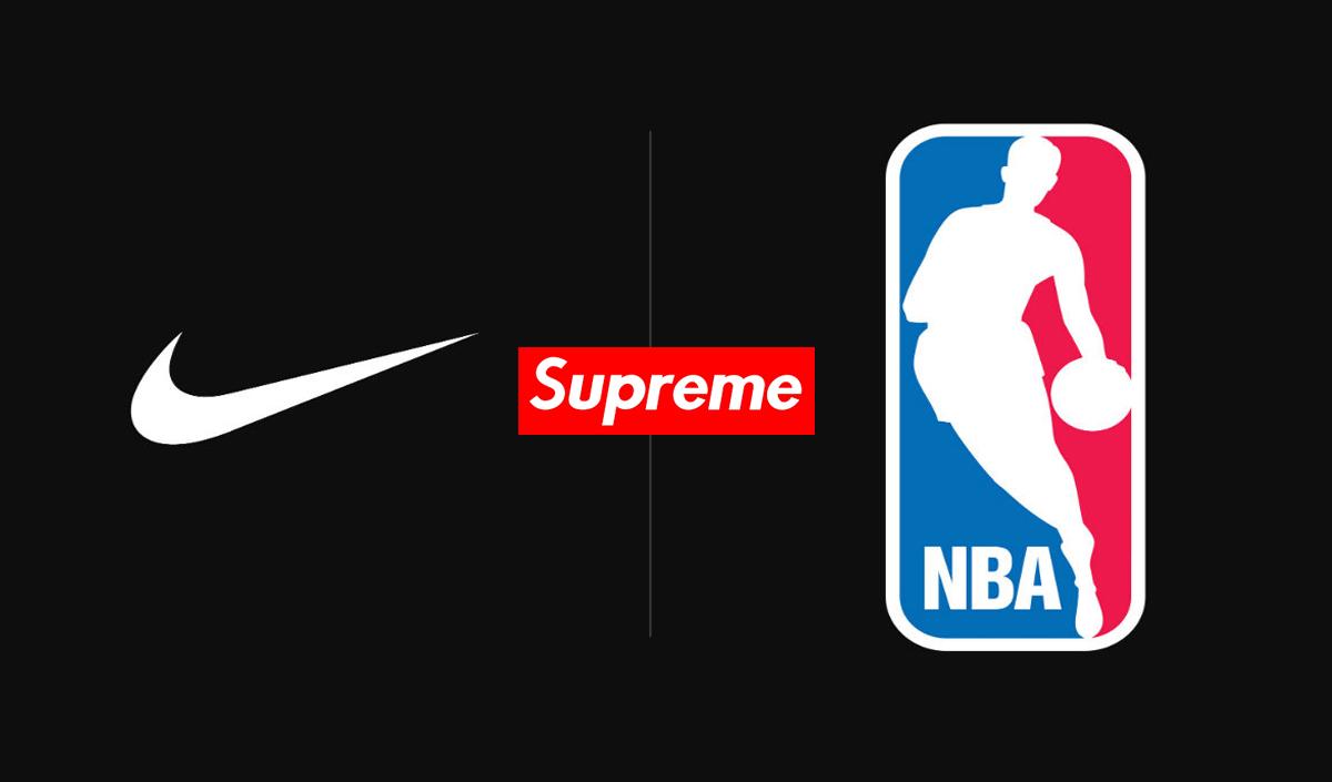 Supreme va collaborer avec Nike et la NBA