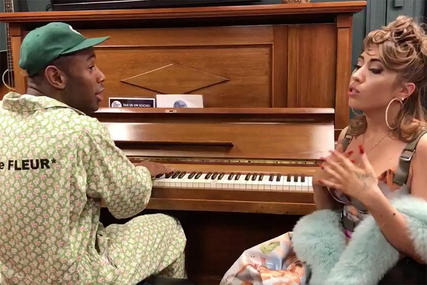 Tyler The Creator et Kali Uchis en acoustic sur «See You Again»