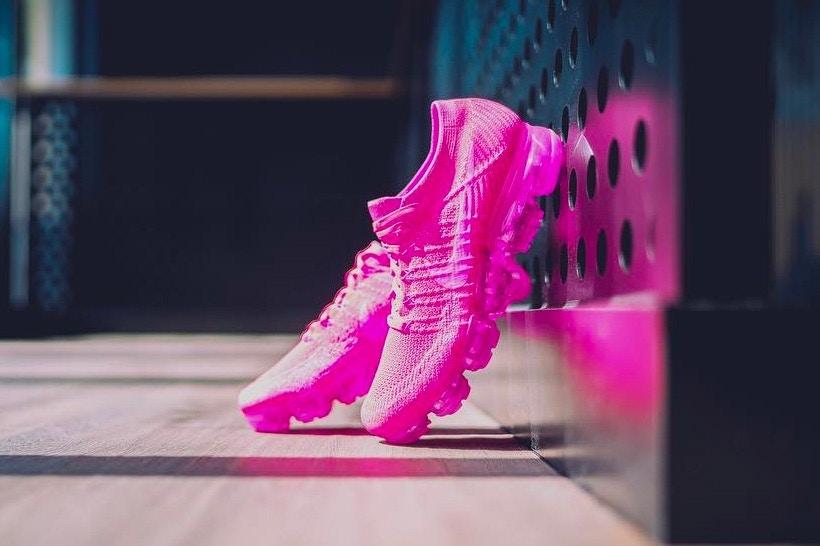 La Nike Air  Vapormax  prend de la couleur avec le colorway  «Triple Pink»