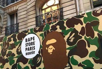 L'adresse du BAPE store parisien dévoilée ?
