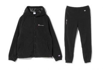 BEAMS x Champion s'unissent pour une collab' allblack
