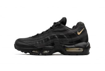 La Nike Air Max 95 Premium SE en Black & Gold