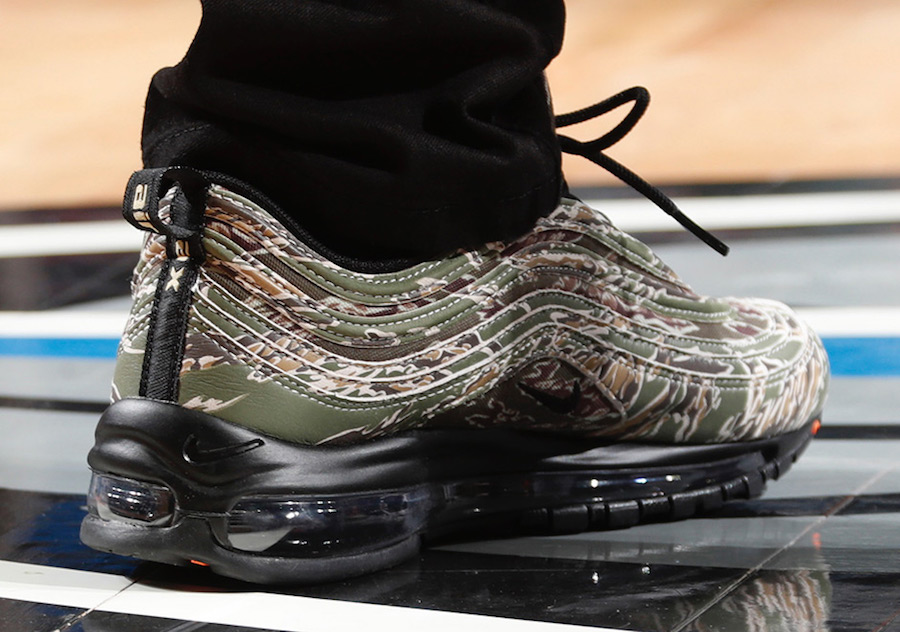 "Nike dévoile une Nike Air Max 97 ""USA Camo</p>                     			</div> 		</div>    	  		 		 		 		 		<!-- tab-area-end --> 	</div> 	<!--bof also purchased products module--> 	