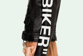 Off White dévoile une collection de perfecto Biker