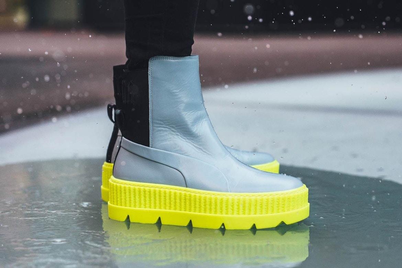 Un aperçu des nouvelles sneakers Fenty PUMA Chelsea Boots